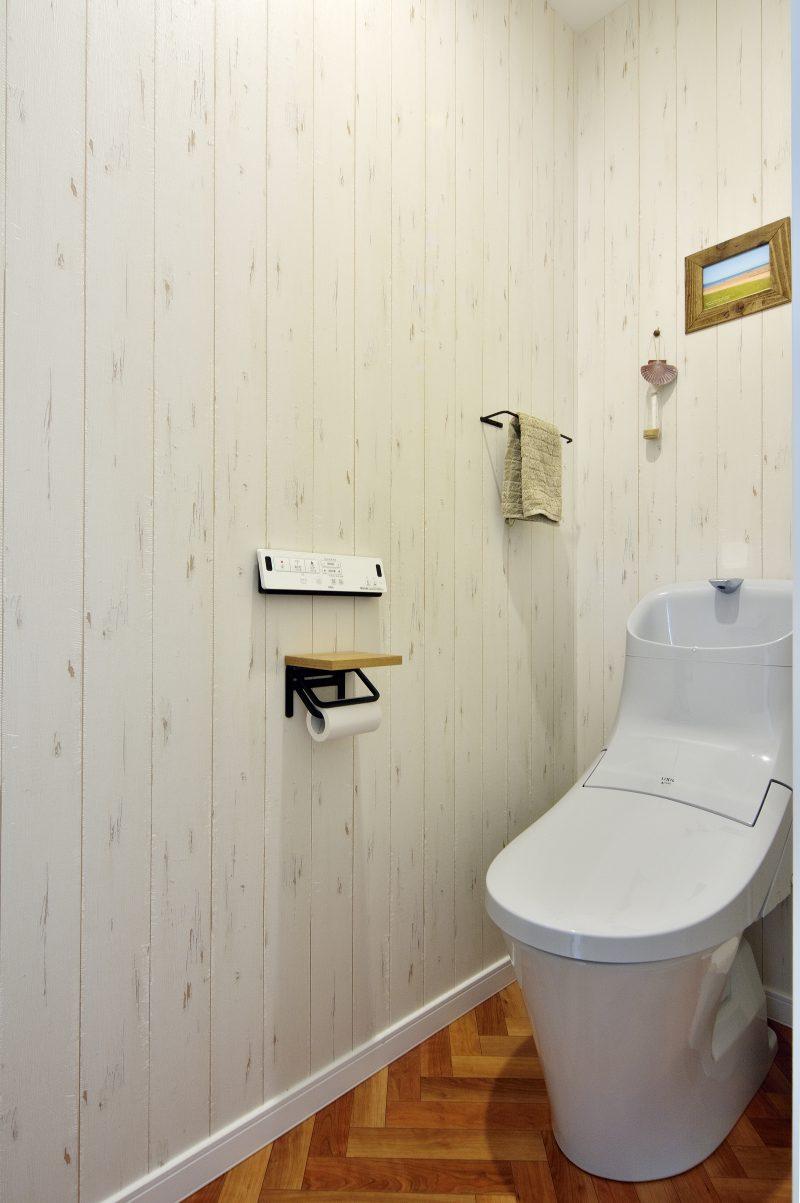 二世帯住宅のトイレ